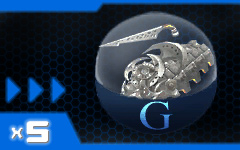 Daily Deal: G`s Guillotine counter sword Capsule x5