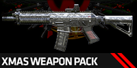 80%OFF: Xmas Weapon Package - 12 permanent weapons!