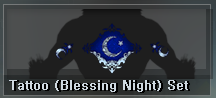 9 AP - Tattoo (Blessing Night) Set (1 D)