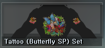 9 AP - Tattoo (Butterfly SP) Set (1 D)
