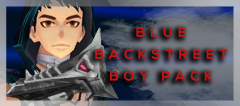 Blue Backstreet Boy Pack (FP) (Perm)