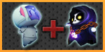 *DAILY DEAL* 3 for 1 - Space Rabbit Capsule + 2x Death Jr Capsule