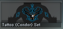 Tattoo (Condor) Set (01D)