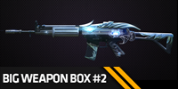 75% OFF: Big Weapon Box #2 - Guaranteed one permanent weapon!