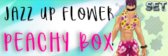 Jazz up Flower Peachy Box