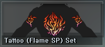9 AP - Tattoo (Flame SP) Set (1 D)