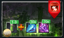 1-3 Safeguards or 100 Safeguards MB + 30x Enhancement Booster + 70x Vivid Crystal