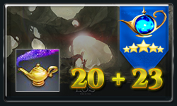 Buy 20 Magic Lamps & Get 23 For Free!