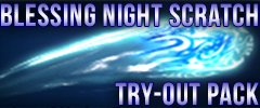 Blessing Night Scratch Try Out Pack