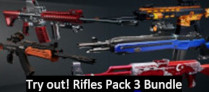 Try out! Rifles Pack 3 Bundle
