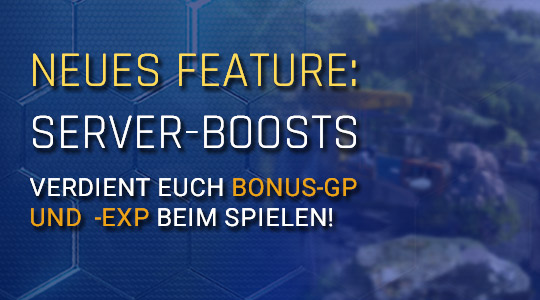 Neues Feature: Server-Boosts
