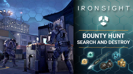 Bounty Hunt: Search and Destroy