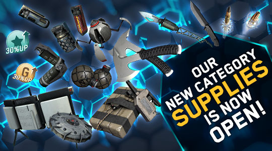 Supplies Opening Category & Bounty Hunt