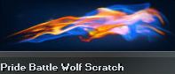 Pride Battle Wolf Scratch (Perm)