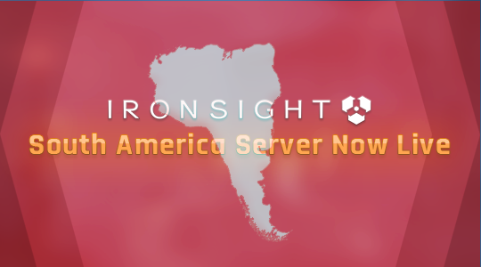 South American Server live!
