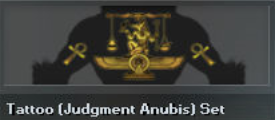 Tattoo (Judgment Anubis) Set (Perm)
