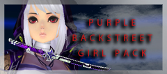 Purple Backstreet Girl Pack (FP) (Perm)