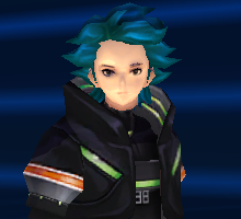 Orange Cyber Boy Set (FP) (PERM)