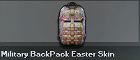 Military Backpack - Easter Skin (Perm)