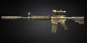 5x Weapon Bombs: Raptor M4A1