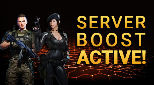 Server Boost! +100% GP and XP until February 17