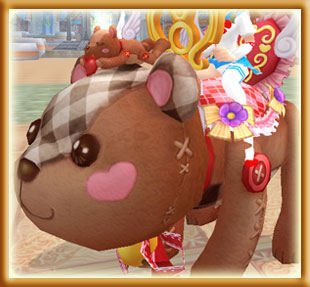 WEEKEND ONLY! Huggable Teddy Bear Mount Fortune Bag