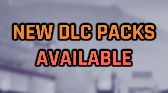 New DLC Packs now available on Steam!