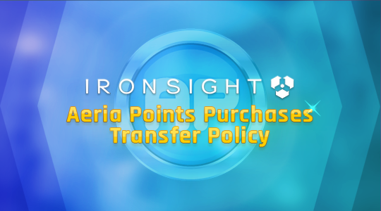 Aeria Points Purchases - Transfer Policy