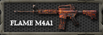 WB_Flame M4A1 (1 try) - 25% OFF