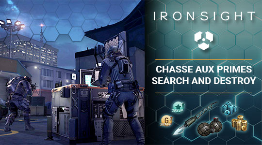 Chasse aux primes : Search and Destroy