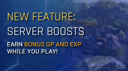 New Feature: Server Boosts