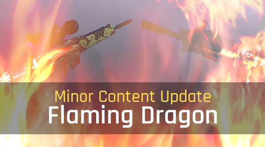 Minor Content Update: Flaming Dragon
