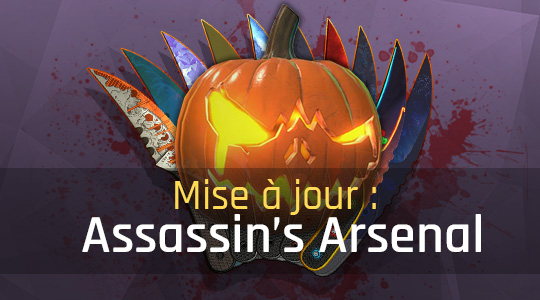 Mise à jour mineure : Assassin's Arsenal
