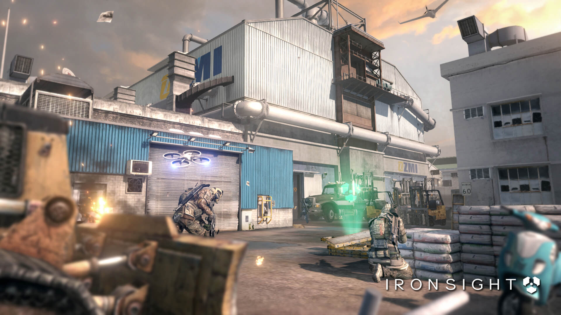 Exclusive Ironsight features - Drones - Ironsight