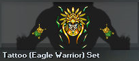 Tattoo (Eagle Warrior) Set (Perm)